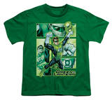 Youth: Justice League America - Green Lantern Panels T-Shirt