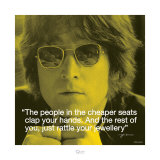 John Lennon: Clap Your Hands Affiches