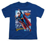 Youth: Justice League America - Superman Panels Shirts