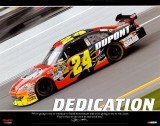 Jeff Gordon - Dedication Affiche
