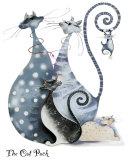 The Cat Pack Poster van Marilyn Robertson