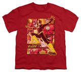 Youth: Justice League America - Flash Shirt