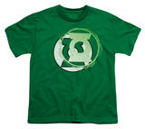 Youth: Justice League America - Gl Energy Logo T-Shirt
