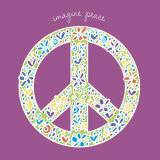 Imagine Peace Affiches par Erin Clark