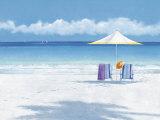 Beach Life II Print by Isabelle Aubonne