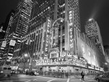Radio City Music Hall Crossing Prints by Henri Silberman