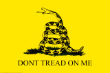 Gadsden Flag - Don't Tread on Me Lminas