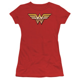 Juniors: Justice League America-Golden T-Shirt