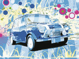 Vintage Mini Cooper Posters by Michael Cheung