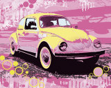 Vintage Beetle Posters by Michael Cheung