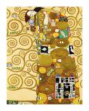 Die Erfüllung Kunstdrucke von Gustav Klimt