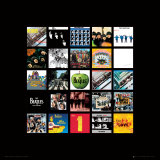 The Beatles: Album Collection Music Poster Kunst
