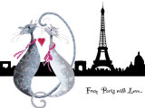 From Paris with Love Prints by Marilyn Robertson