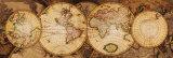Världskarta – Nova Totius Terrarum Orbis, latin Konst