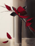 Bouquet Rouge I Prints by Olivier Tramoni