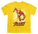 Youth: Justice League America - Flash Yellow T-Shirt