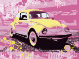 Vintage Beetle Prints by Michael Cheung