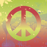 Outtasight Peace Poster par Erin Clark