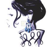 Earrings Prints by Sharon Pinsker