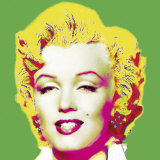 Marilyn in Green Posters by Wyndham Boulter