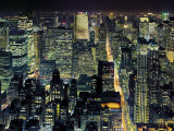From the Empire State Building, New York City Prints by Henri Silberman
