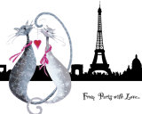 From Paris with Love Plakater av Marilyn Robertson