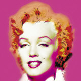 Marilyn in Pink Posters by Wyndham Boulter