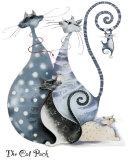 The Cat Pack Plakater av Marilyn Robertson