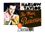 The Man in Possession, Jean Harlow, Robert Taylor 1931 Posters