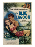The Blue Lagoon, from Left, Jean Simmons, Donald Houston, 1949 Photo