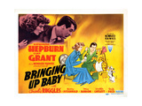 Bringing Up Baby, Katharine Hepburn, Cary Grant, 1938 Print