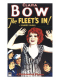 The Fleet's In, Clara Bow, Jack Oakie, James Hall, 1928 Photo