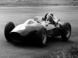 Mike Hawthorn in Ferrari, 1958 Dutch Grand Prix Photographic Print