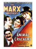 Animal Crackers, Groucho Marx, Zeppo Marx, Chico Marx, Harpo Marx, 1930 Posters