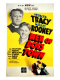 Men of Boys Town, Spencer Tracy, Mickey Rooney, 1941 Photo