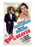 Rage in Heaven, Robert Montgomery, Ingrid Bergman, 1941 Photo