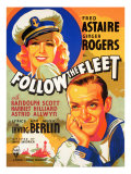 Follow the Fleet, Ginger Rogers, Fred Astaire, 1936 Posters