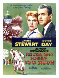 The Man Who Knew Too Much, Top Doris Day, James Stewart, 1956 Prints