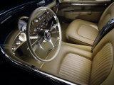 S. Clay - 1954 Chevrolet Corvette Interior Fotografická reprodukce