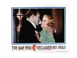The Man Who Reclaimed His Head, Lionel Atwill, Joan Bennett, 1934 Posters