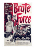 Brute Force, Burt Lancaster, Yvonne De Carlo, 1947 Photo