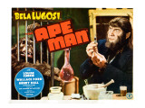 The Ape Man, Bela Lugosi 1943 Posters