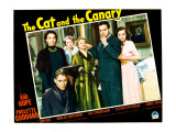 The Cat and the Canary, Douglass Montgomery, Gale Sondergaard, Elizabeth Patterson, and Bob Hope Poster