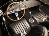1966 AC Cobra 427 Interior Photographic Print by S. Clay