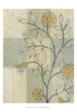 Neutral Linen Blossoms I Posters by Norman Wyatt Jr.