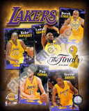"2009 Finals - Lakers ""Big 5"" Photo"
