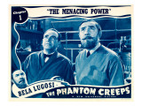 The Phantom Creeps, Chapter 1: the Menacing Power, 1939 Posters