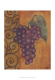 Scrolled Grapes I Posters by Norman Wyatt Jr.