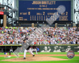 Mark Buehrle '09 Perfect Game Final Pitch with Scoreboard Photographie