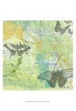 Butterflies II Plakater af Jan Weiss